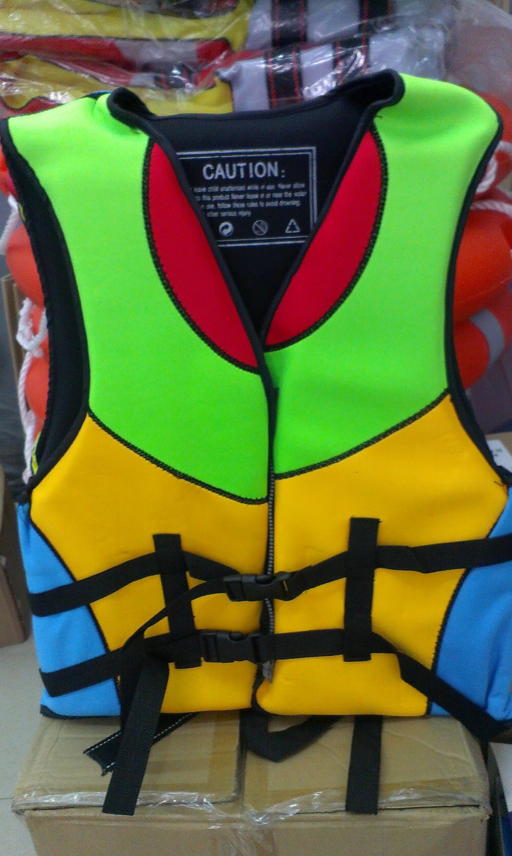 2015 Inflatable Personalized Solas Approved Life Jacket