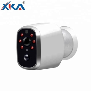 Waterproof Smart Battery Powered Indoor Security 720P Wifi IP Camera