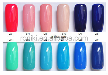 Rnk Cute Color Coat Gel Guaranteed Top Quality Uv Gel Nail Polish ...