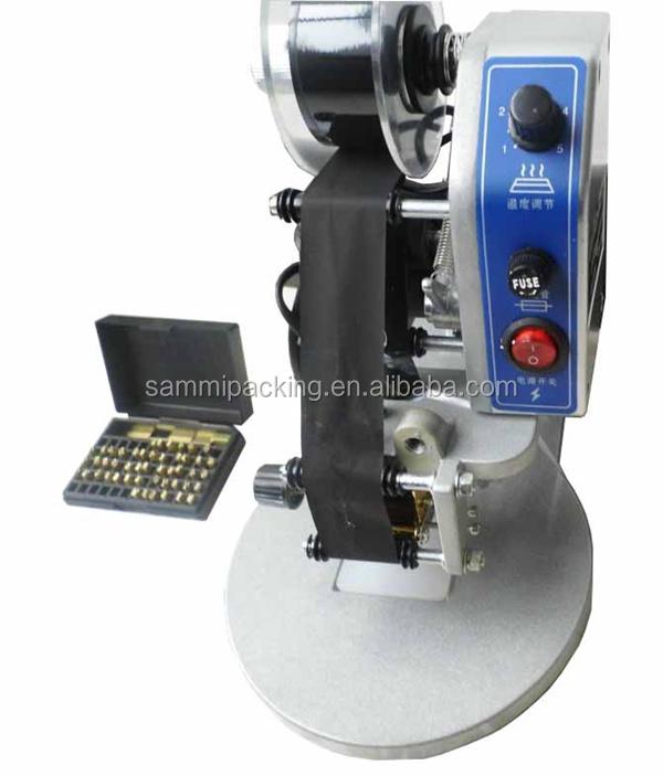 manual date coding machine