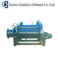 30ton high speed big power cable pulling winch for ship