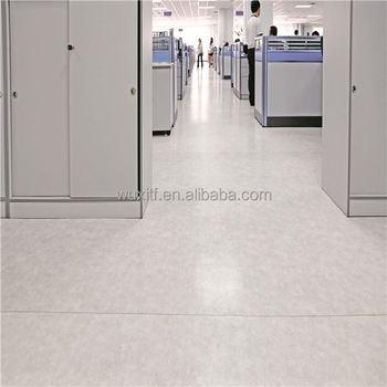 Indoor Office Pvc Vinyl Flooring Roll White Commercial Rolls Floor With CEISO9001