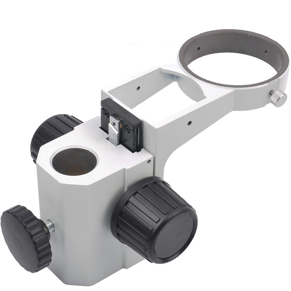 KOPPACE KP-A3-1 Metal Stereo Microscope Focus Bracket Adjustable Descending Frame Microscope Focus Rack Microscope Arms.