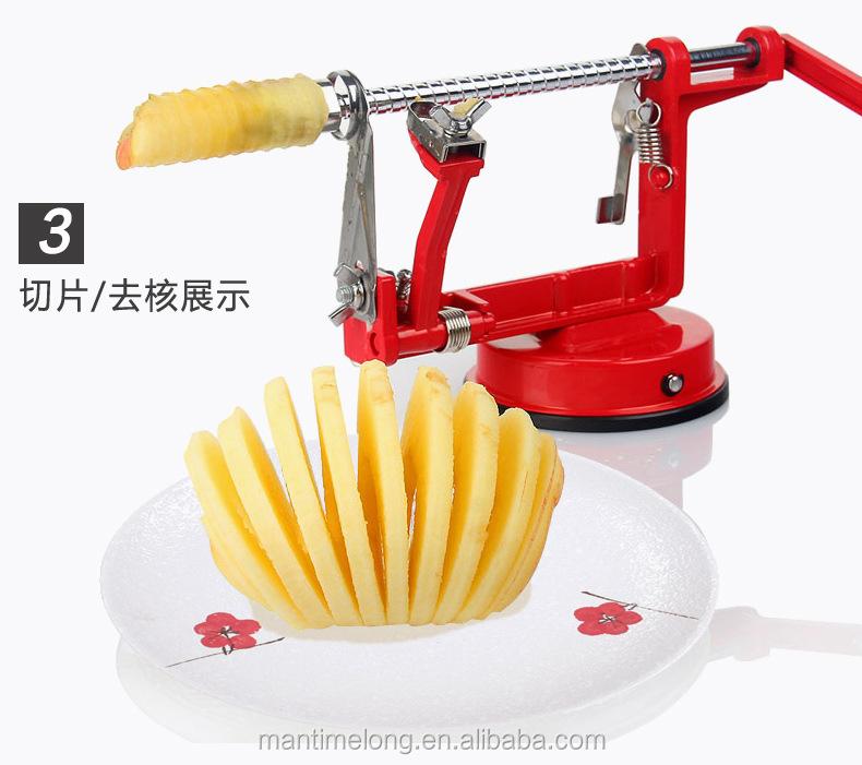 Commercial Electric Apple Peeler Corer Slicer Apple And ...