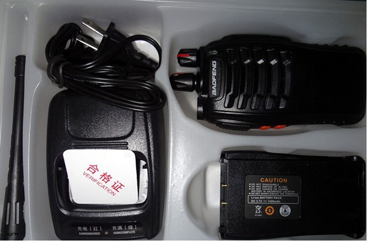 Portable Two-Way Radio 5W UHF  baofeng BF-888S