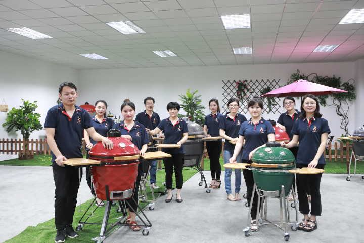 China populaire kamado keramische grill zonder base