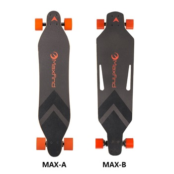 wholesale much lighter much thinner dual hub motor boosted skateboard electric scooters in China