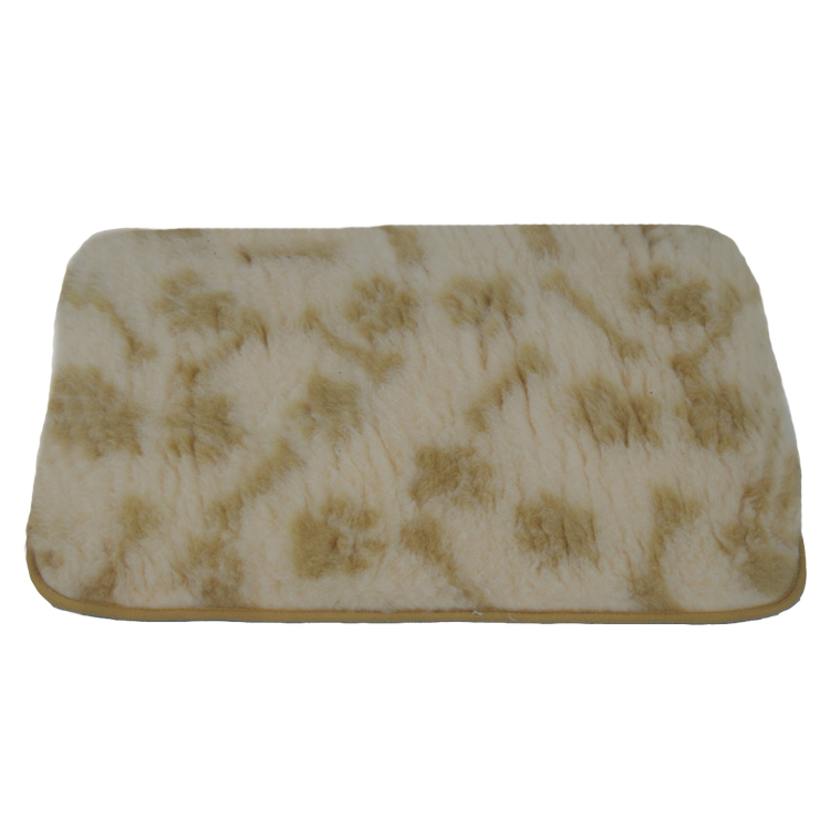 Footprint Boneprint Polyester Dog Mat Pet Mat