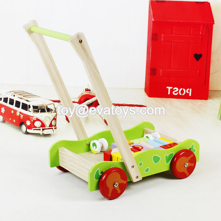 Wholesale Cheap Pink Wooden Baby Push Toys For Walking W16e082 Buy