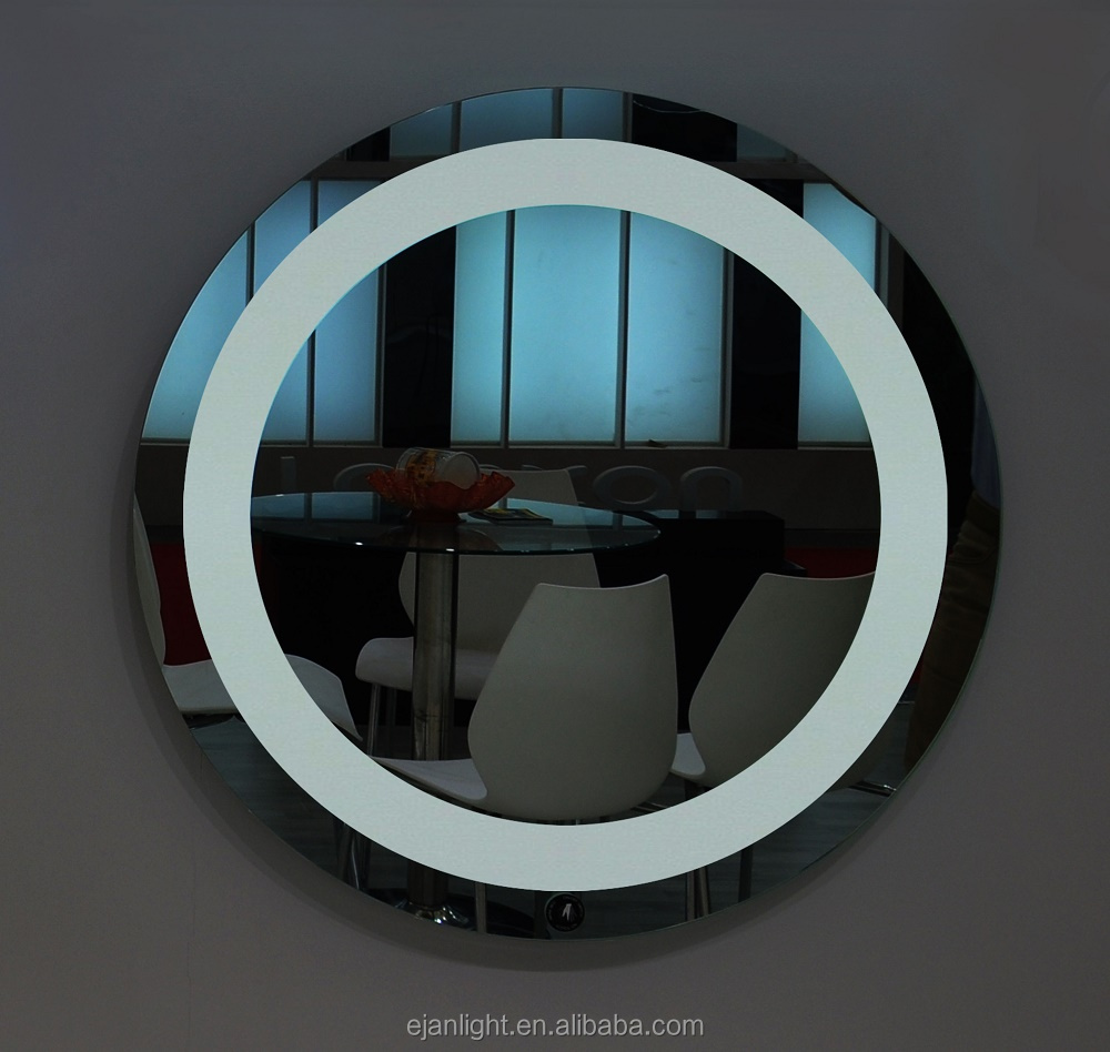 Modern Design Wall Mounted Round LED Bathroom Mirror