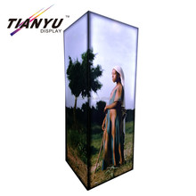 Advertising Aluminum poster Snap Frame lighting counter high bright light box.
