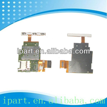 High Quality Sim Card Reader Holder Slot Flex Cable For Sony Xperia J ST26i Sim Reader Flex Cable