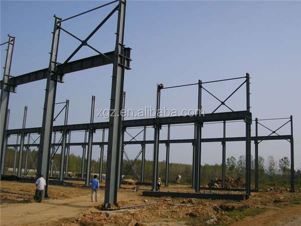 rigid high strength prefab workshop shed low cost