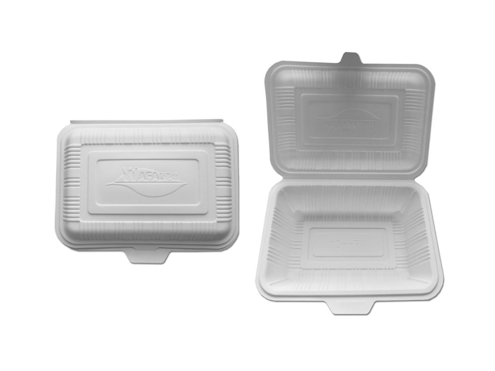 18 oz biodegaradable disposable food container