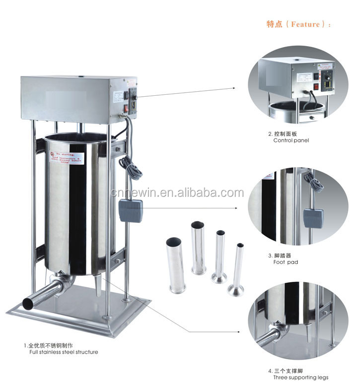Automatic Industrial Sausage Making Machine