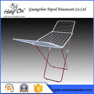 China Professional Factory Cheap Wholesale Metal and plastic parts folding clothes rack