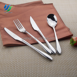 Low Price International Stainless Steel Flatware Apple Flatware French Flatware