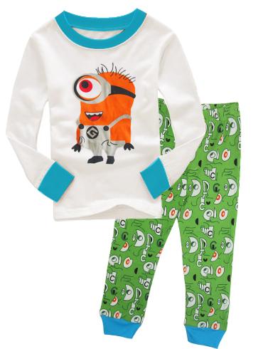 37770509c7 Bodysuit do bebê 100% Algodão Orgânico Roupas Conjuntos de Pijama Menino 1  Ano