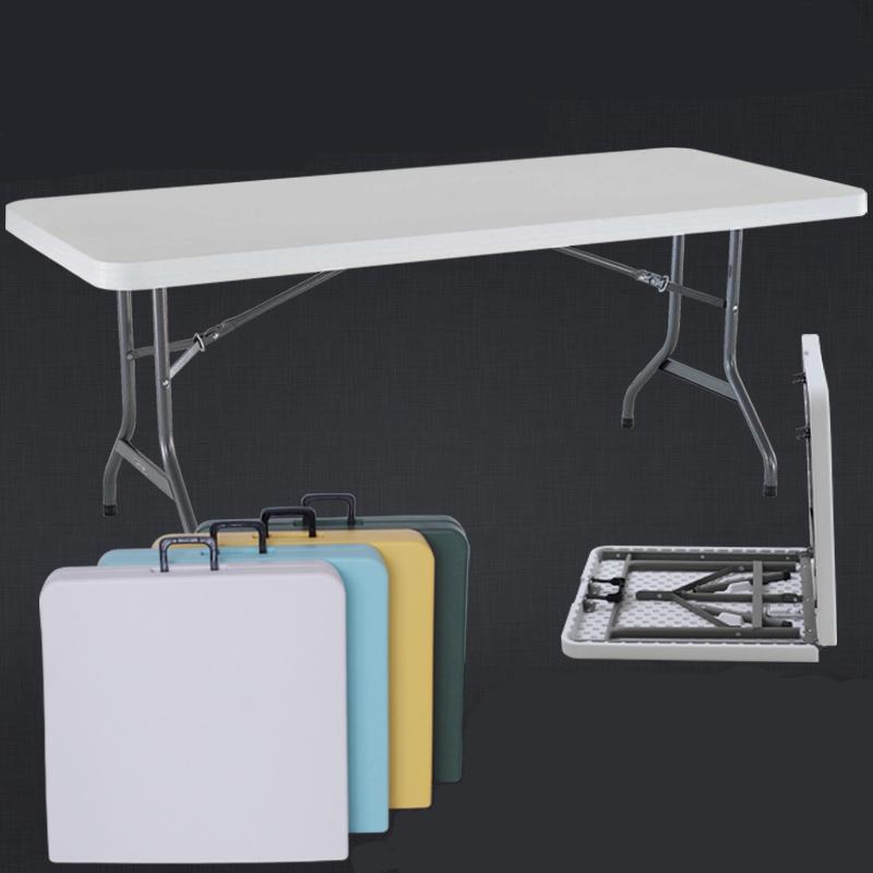 Pehd en plastique table de jardin blanc en plastique en - Table de jardin plastique blanc ...