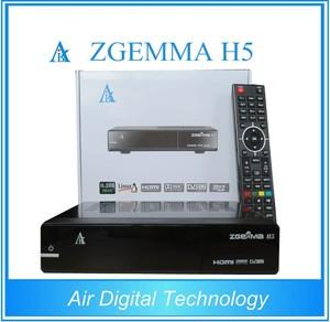 ZGEMMA H5 free to air decoder free to air combo DVB S2 + DVB T2/C