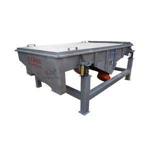 Linear vibrating screen sieve in china for quartz sand