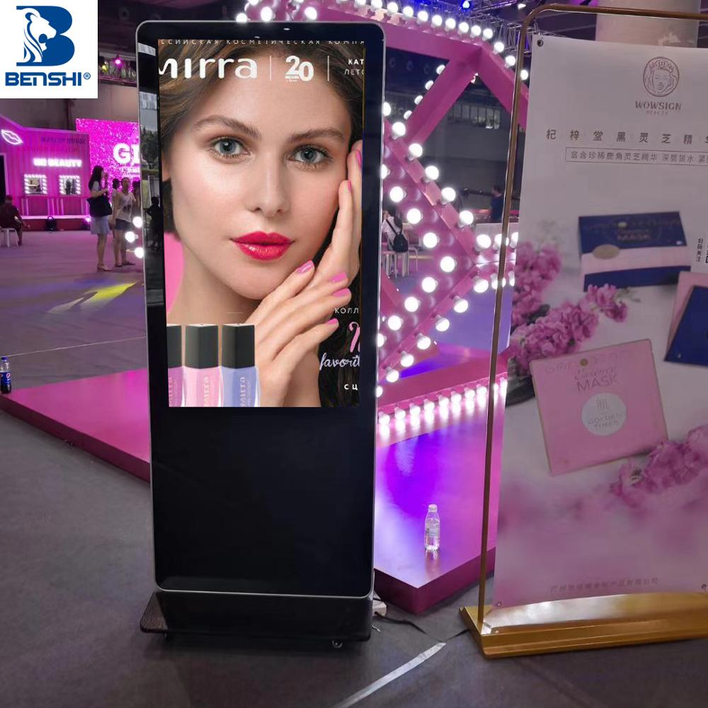 55 inch interactieve panel touch screen monitor digitale lcd reclame display