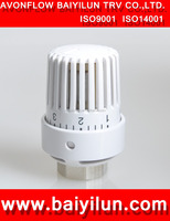 CE thermostatic valve head for radiator;Top level best sell thermostatic head with F type