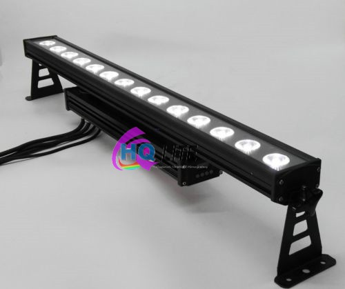 Outdoor 14*15w high power dmx rgbw uv linear led wall washer