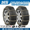 Zinc plated snow tire anti skid chains for passenger car