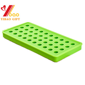 Xinyuan 100pcs Silicone Cube Tray Anti Slip Safety For Bad Weather/rubber Snow Climbing Crampons Single Jewel Ice Mold