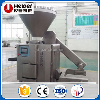 Automatic stainless steel sausage vacuum filling machine