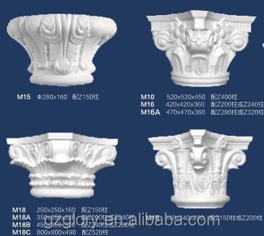 decorativo columnas yeso yeso pilares