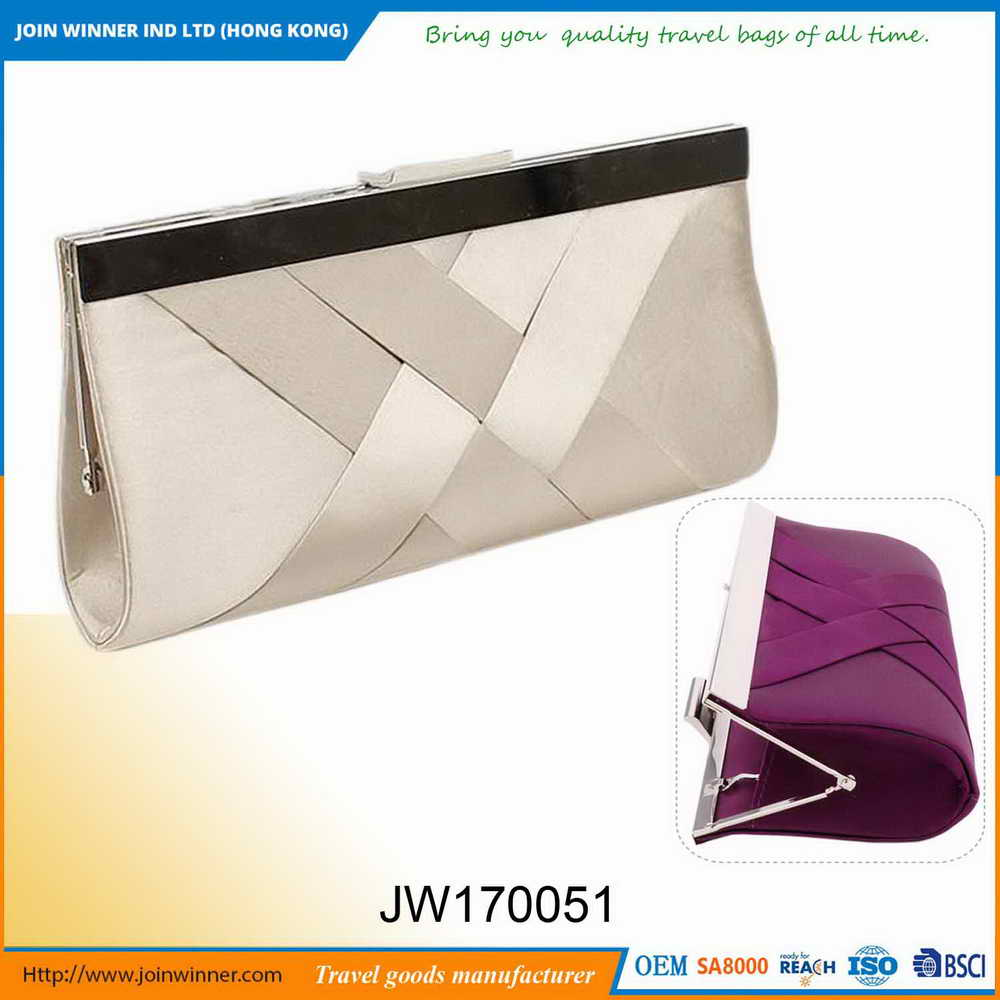New Brand Silver Clutch Handbag Best Price High Quality