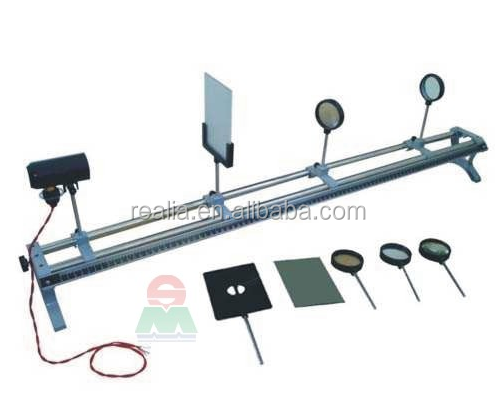 Optical bench with Lens kit