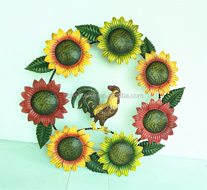 Metal Wall Art Sunflower, Metal Wall Art Sunflower Suppliers and ...