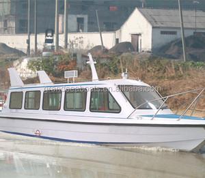 30seats Fiberglass Fast Speed Passenger Ferry Boat for sale