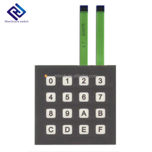 FPC/PET circuit capacitive touch button membrane switch