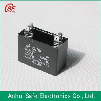 Draht/einsätze Kunststoff Cbb61 Ventilator Kondensator 2,5 Mfd - Buy ...
