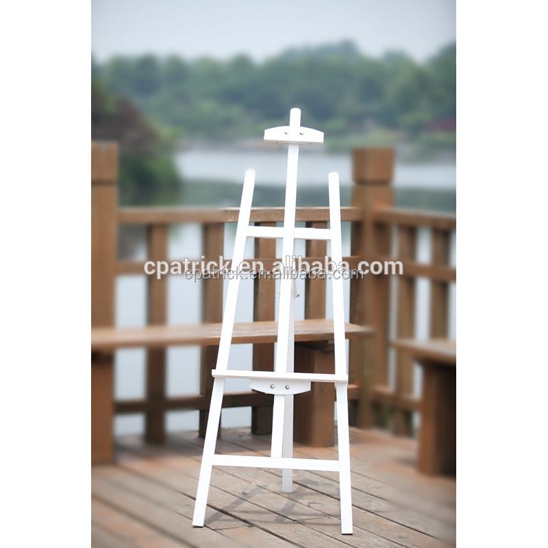 Color blanco madera de pino lyre estudio un marco estable francés ...