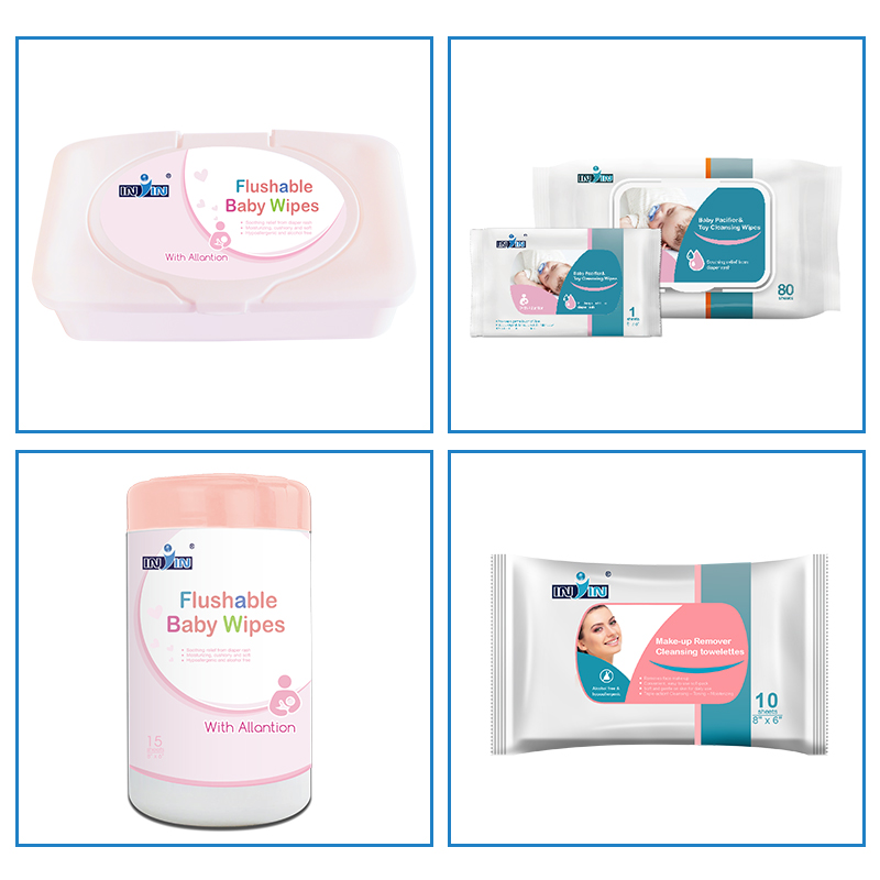 Bamboo Wet Wipes Baby Wipe Case Car Cleaning Wipes