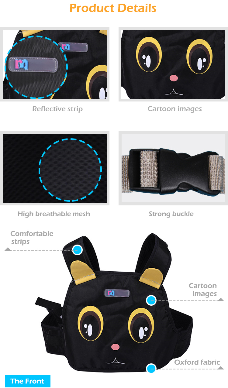 Alibaba Trade Assurance Low Cost Children Motorcycle Safety Seat Strap Belt Harness