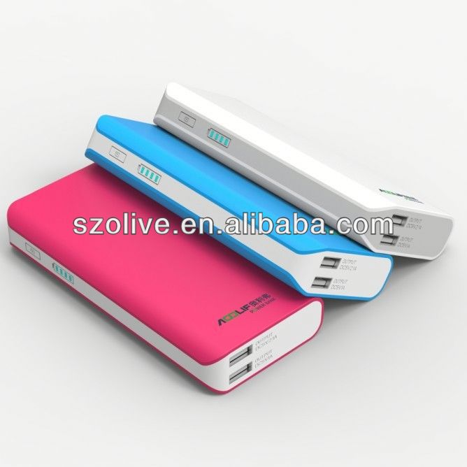 Hight Capacity 3.1A Output power bank companies looking for distributors