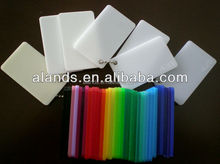 Opal/white/black/ milky white color casting acrylic sheet