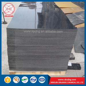 Wear resistant black color 6mm hdpe sheet/plate/panel/board