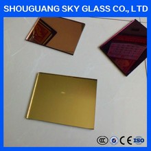 Double coating clear float 3mm~6mm aluminum mirror KOREA standard