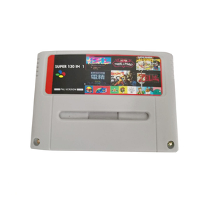 Super 130 in 1 multi games for snes cartridge Pal version