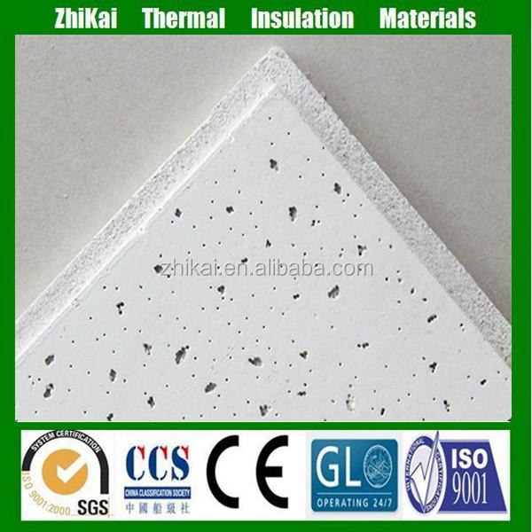 Dalles faux plafond 60x60 minerales, Fibra minerale soffitto bordo Produzione produttori, fornitori, esportatori, grossisti