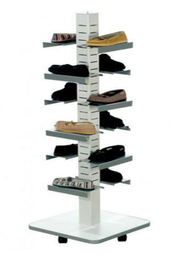 Good-looking Rotating Free-standing Adidas Shoes Rack