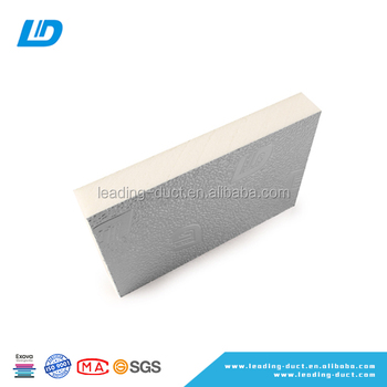Pre-insulated Pu Ac Ducting - Buy Pre-insulated Pu/pir/phenolic Ac  Ducting,Ac Duct Insulation Board,Pre-insulated Ac Pu Pur Air Duct Panel  Product on