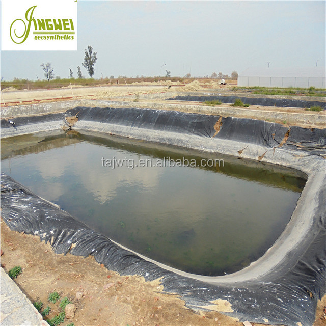 Smooth HDPE Geomembrane Fish/Shrimp Pool Liners